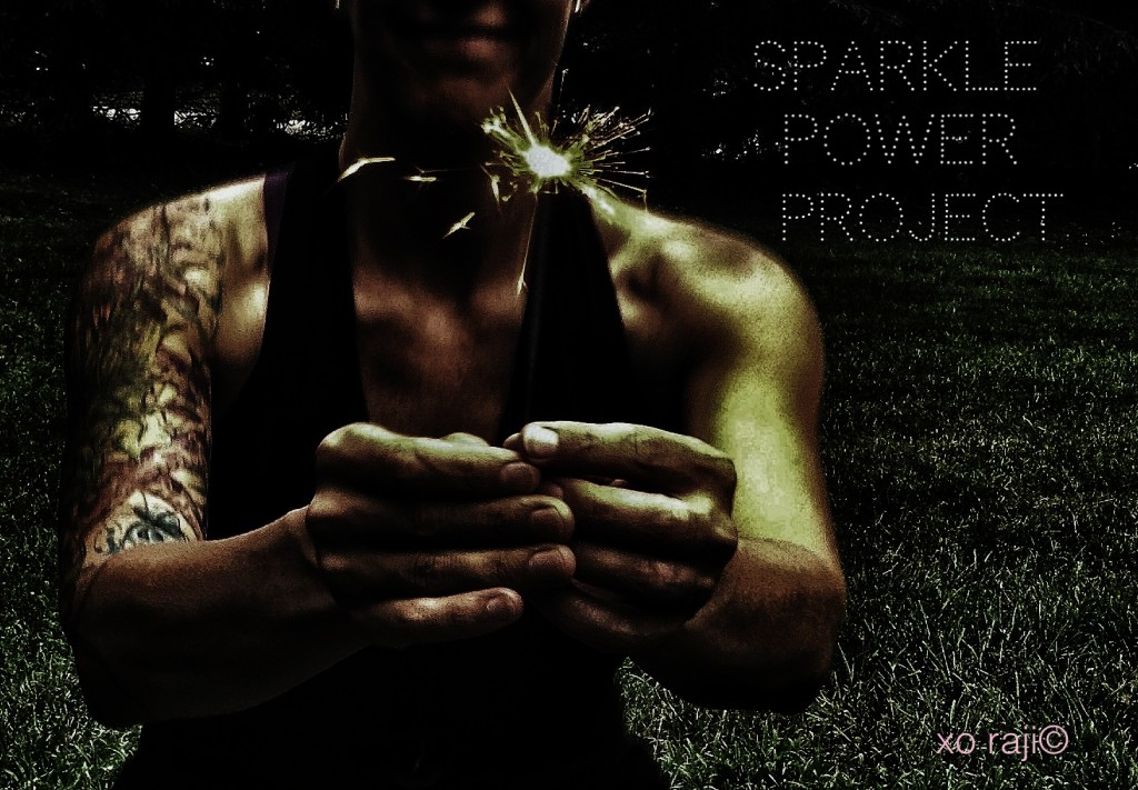 the sparkle power  project by raji simposn